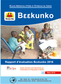Rapport d'evaluation Beekunko 2016